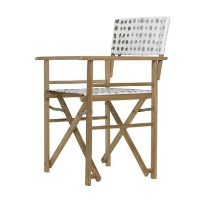 Maxx Designers Guild Holz-Regiesessel