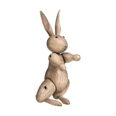 Kaninchen Holzfigur