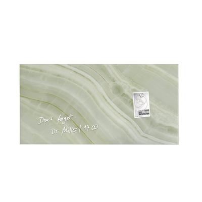 artverum® Glas-Magnetboard Green Mineral