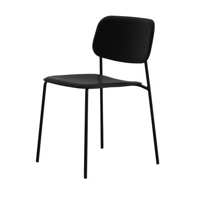 Soft Edge Stuhl mit Stahlgestell