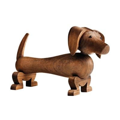 Dackel Hund Holzfigur