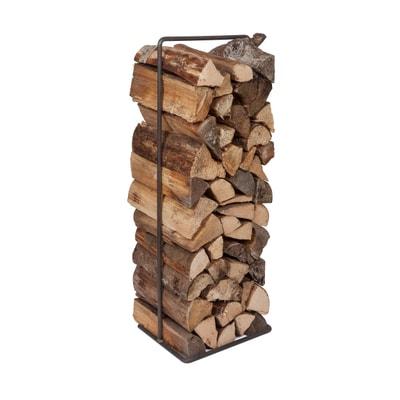 Timber Frame Kaminholzregal