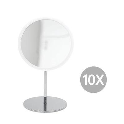 AirMirror Stand-Kosmetikspiegel 10-fach