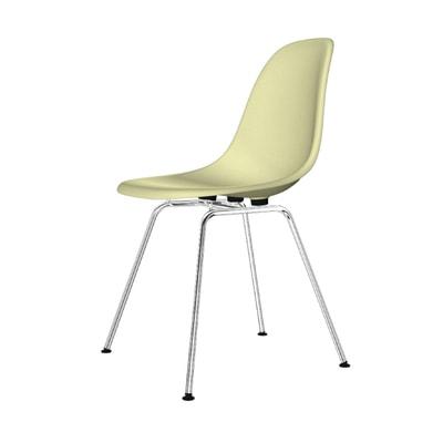Eames Fiberglass Side Chair Stuhl DSX Filzgleiter