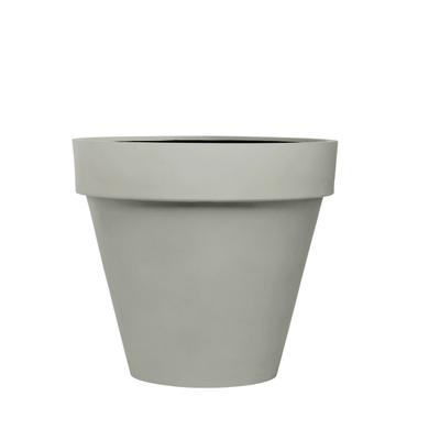 Stonefiber Pot mit Rand Blumentopf