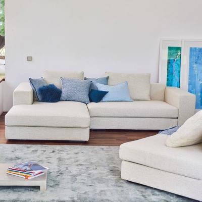 Line Sofa mit Chaiselongue links