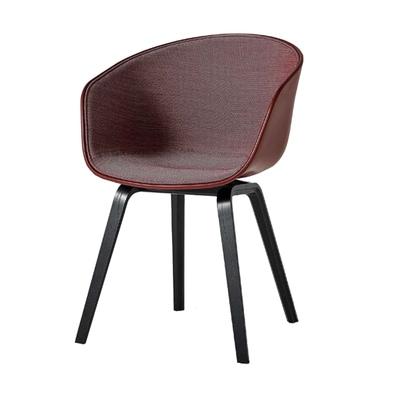 About A Chair AAC22 Spiegelpolster Stuhl gebeizt