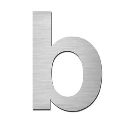 Hausnummer Index zum Aufkleben b