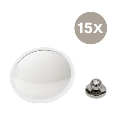 AirMirror Plus Wand-Kosmetikspiegel 15-fach