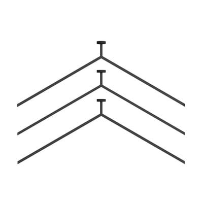 MagHang magnetischer Kleiderbügel 3er-Set